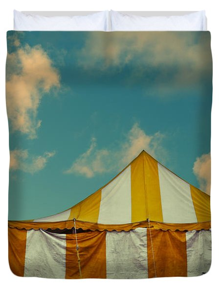 Big Top Duvet Cover by Laura Fasulo