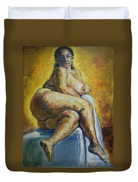 Big Woman Duvet Cover
