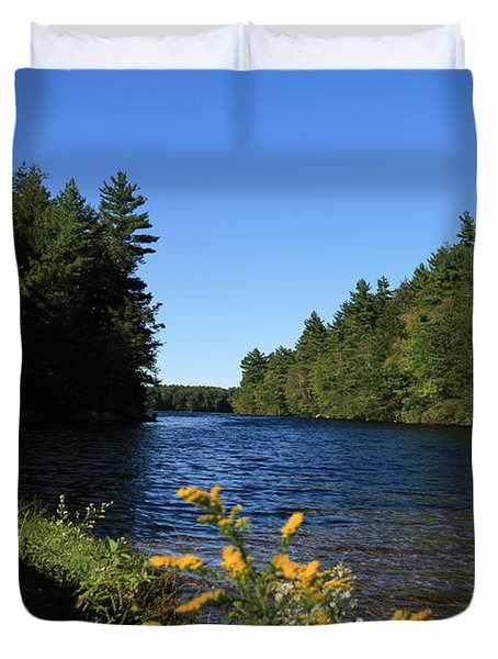 Bigelow Hollow  Duvet Cover by Neal Eslinger