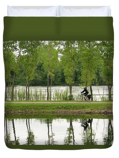 Bike Path Duvet Cover