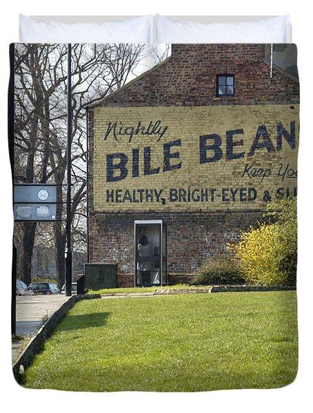 Bile Beans - Scotland Duvet Cover