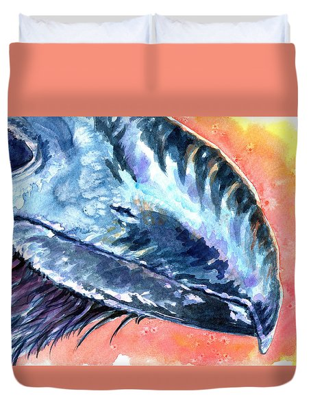 Bill Of Ani Duvet Cover by Ashley Kujan