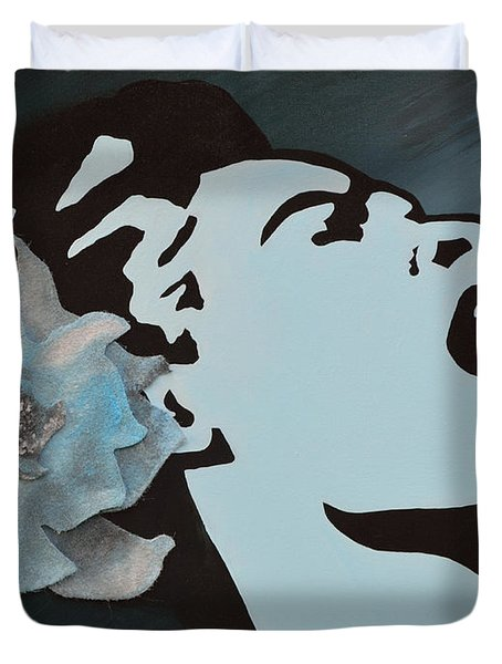 Billie Holiday Duvet Cover by Alys Caviness-Gober
