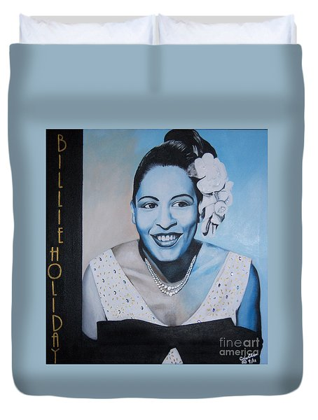 Billie Holiday Duvet Cover