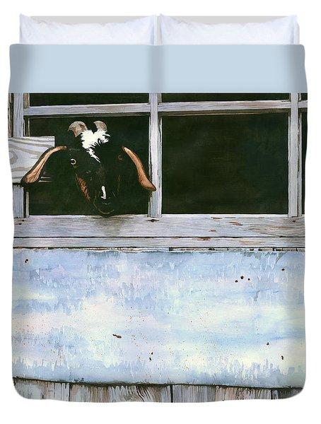 Bill's Goat Duvet Cover