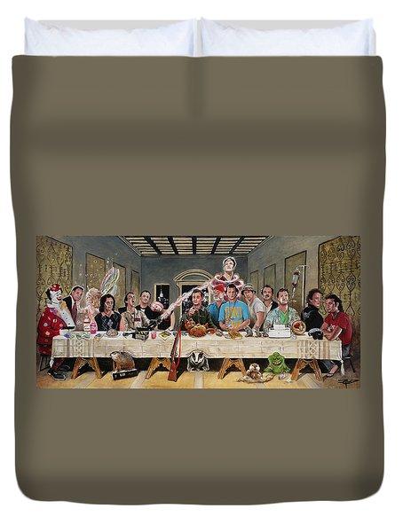 Bills Last Supper Duvet Cover
