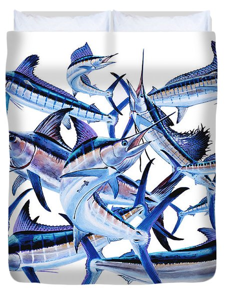 Bills Off0044 Duvet Cover by Carey Chen