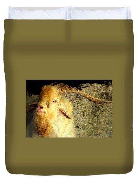 Billy Goat Duvet Covers Fine Art America