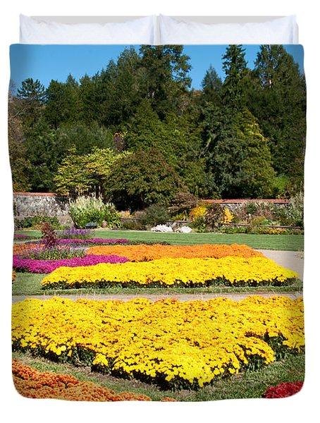 Biltmore Gardens  Duvet Cover by Lynn Bauer