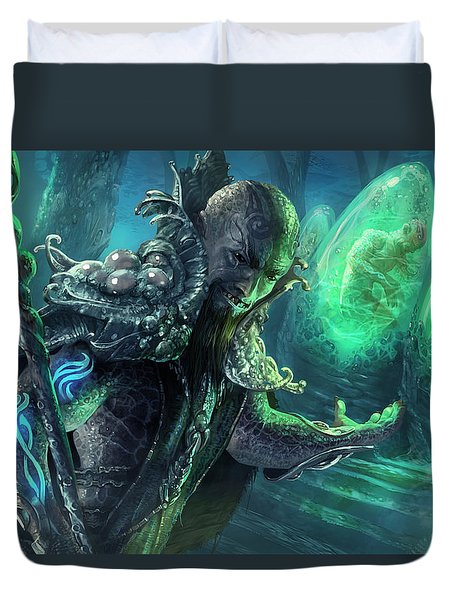 Biovisionary Duvet Cover by Ryan Barger