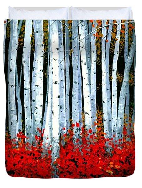 Birch 24 X 48  Duvet Cover