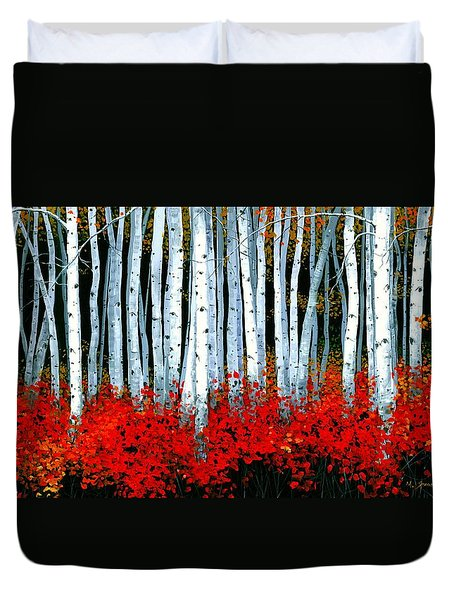Birch 24 X 48  Duvet Cover
