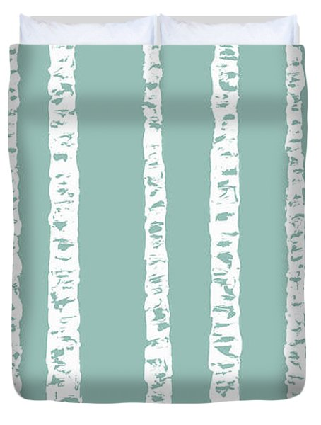 Birches Di Duvet Cover