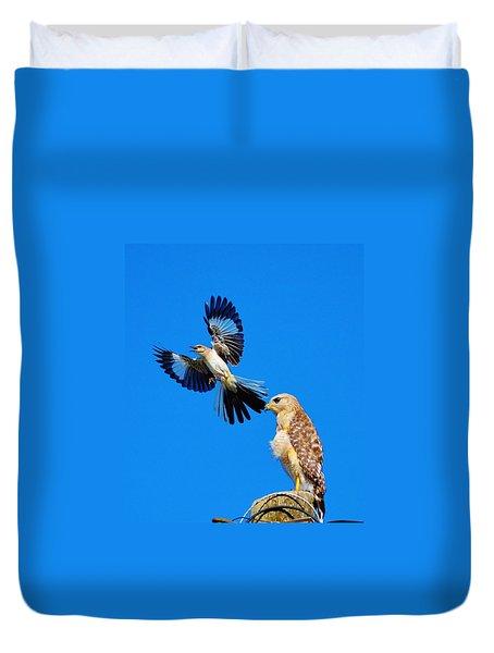 Bird Alert Duvet Cover