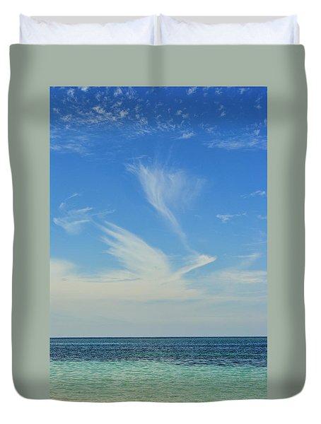Bird Cloud Duvet Cover