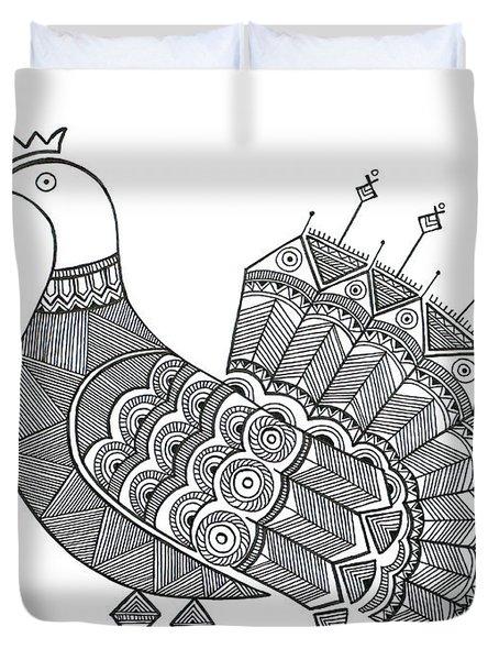 Bird Dove Duvet Cover