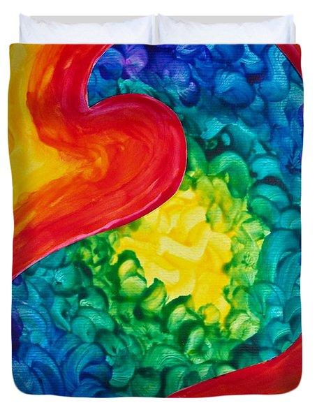 Bird Form II Duvet Cover