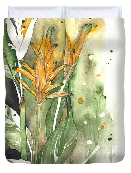 Bird Of Paradise 08 Elena Yakubovich  Duvet Cover