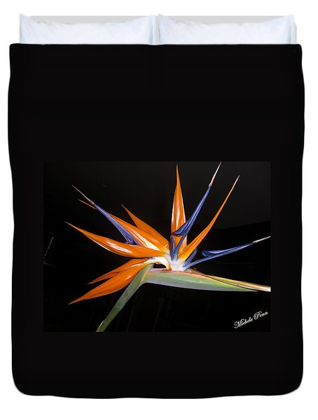 Bird Of Paradise Beauty 4 Duvet Cover