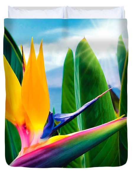 Bird Of Paradise 5 Duvet Cover