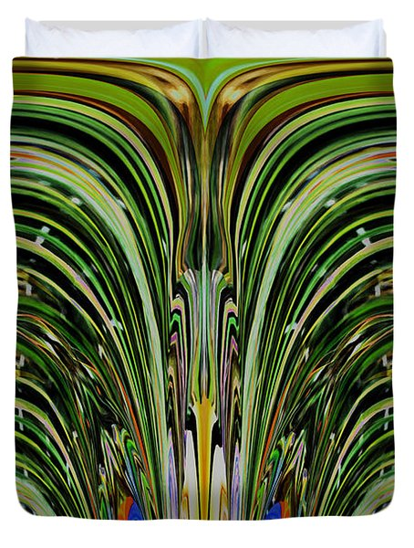 Bird Of Paradise Manipulation 2 Duvet Cover