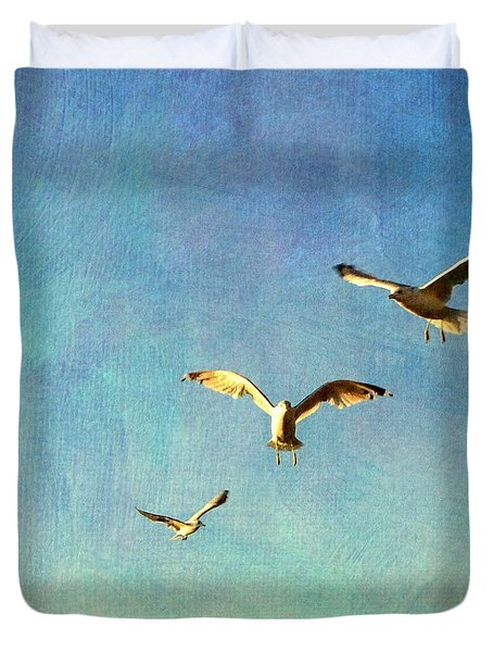 Birds Above Duvet Cover