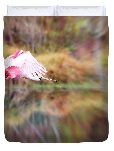 Birds Eye View Duvet Cover by Carol Groenen