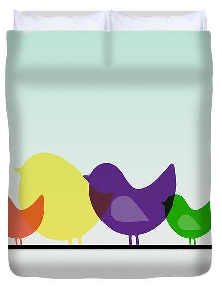 Birds  Duvet Cover