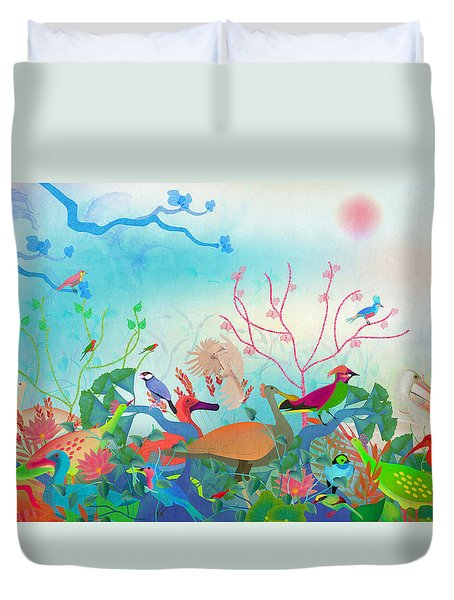Birds Of My Landscapes - Limited Edition  Of 15 Duvet Cover