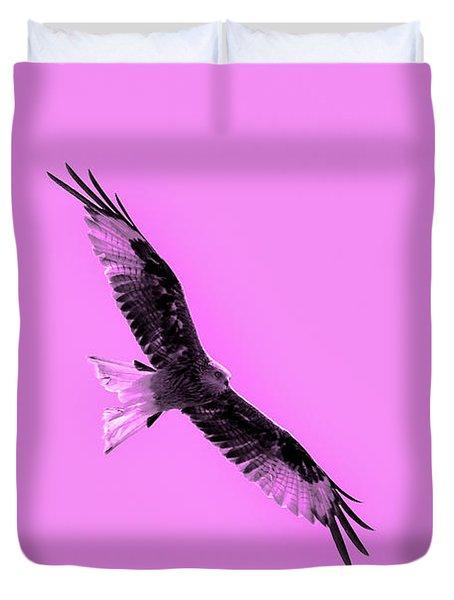Birds Of Prey Duvet Cover by Tommytechno Sweden