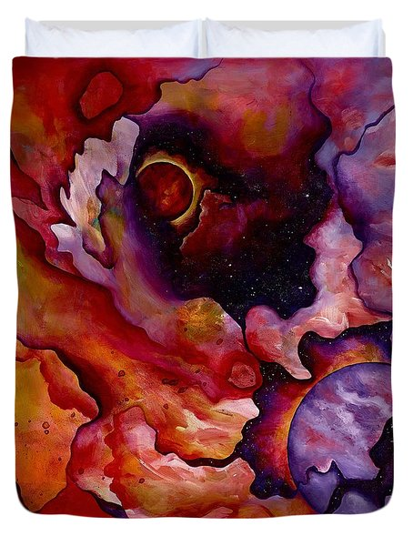 Birth Of A New World Duvet Cover