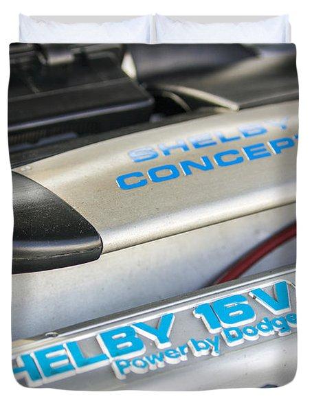 Birthday Car - Engine Bay Duvet Cover