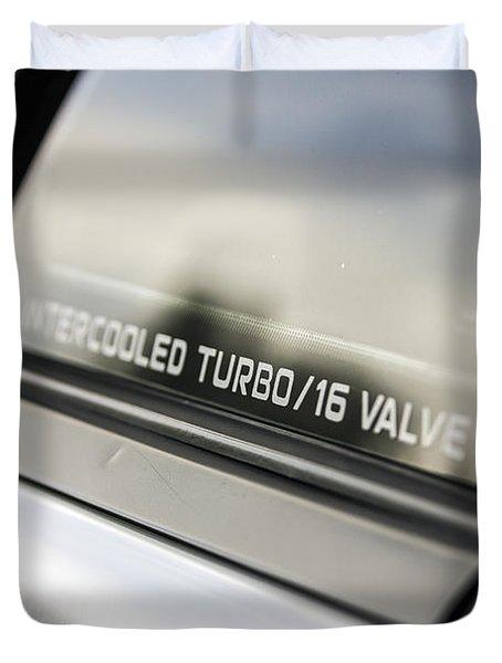 Birthday Car - Intercooled Turbo 16 Valve Duvet Cover