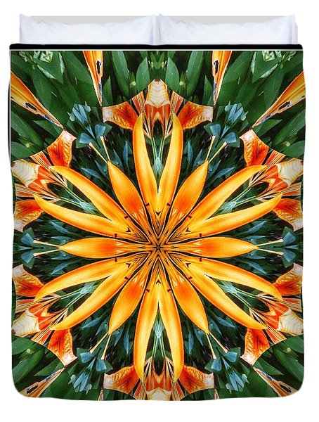 Birthday Lily For Erin Duvet Cover by Nick Heap