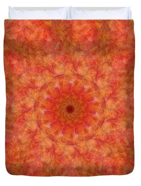 Birthing Mandala 17 Duvet Cover