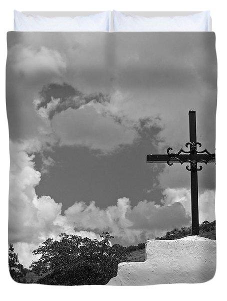 Bisbee Shrine 4 Duvet Cover