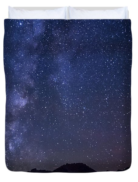 Bishop At Night Duvet Cover