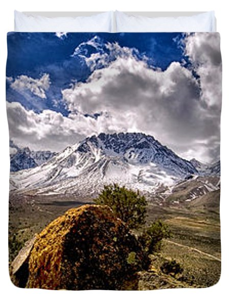 Bishop California Duvet Cover