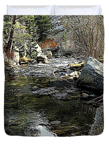 Bishop Creek Duvet Cover