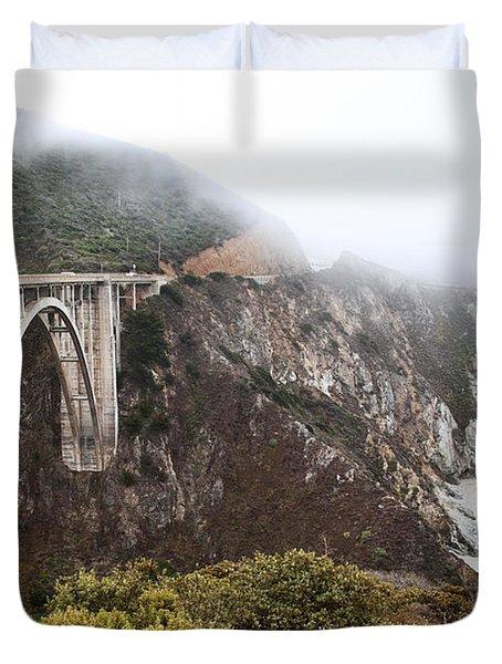Bixby Bridge II Duvet Cover by Jenna Szerlag