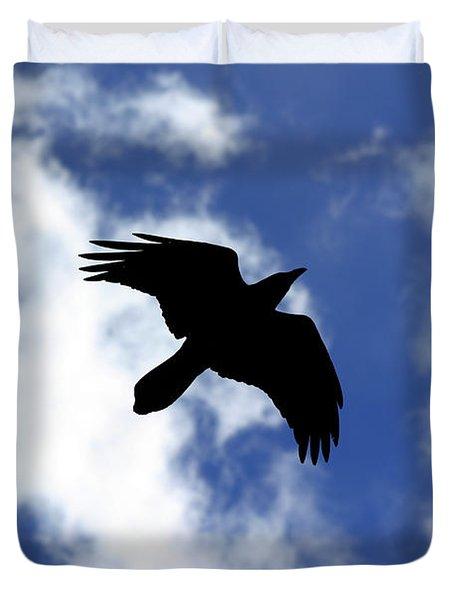 Black Above Duvet Cover