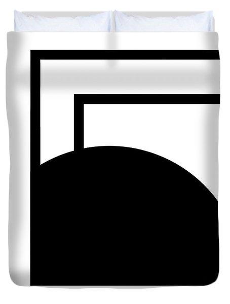 Black And White Art - 127 Duvet Cover