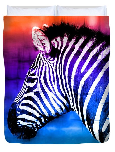 Black And White Or Color? Duvet Cover