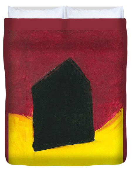 Black Arthouse Duvet Cover