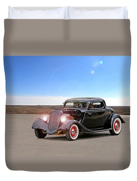Black Beauty Duvet Cover