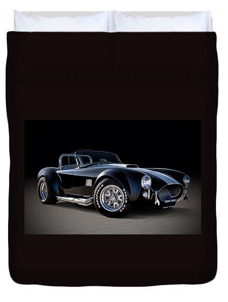 Black Cobra Duvet Cover