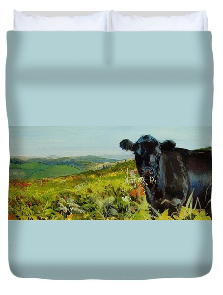 Black Cow Dartmoor Duvet Cover