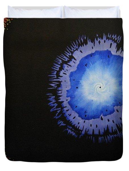 Black Hole Duvet Cover by Lori Ziemba