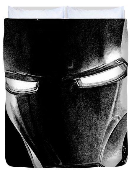 Black Led Avenger Duvet Cover by Kayleigh Semeniuk
