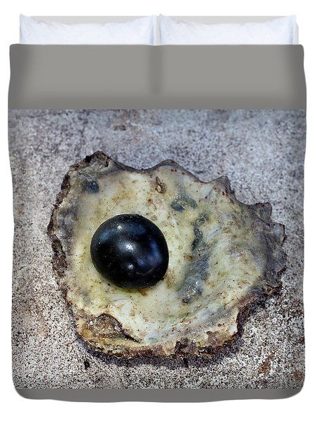 Black Pearl Duvet Cover by Sergey Lukashin